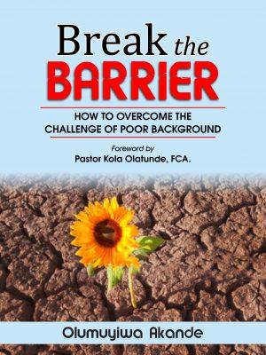 Break the Barrier Cover
