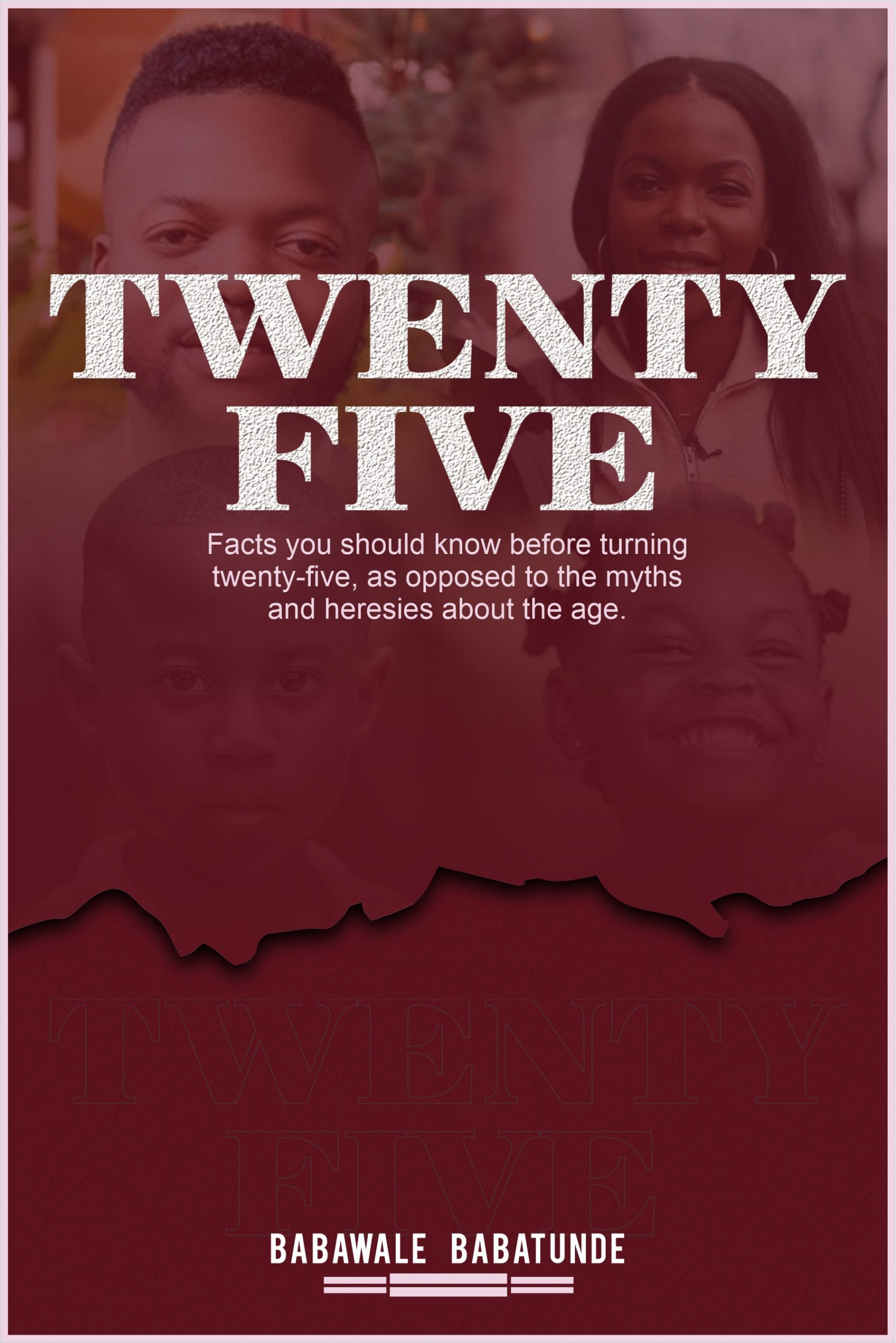 Cover Design - Twenty Five